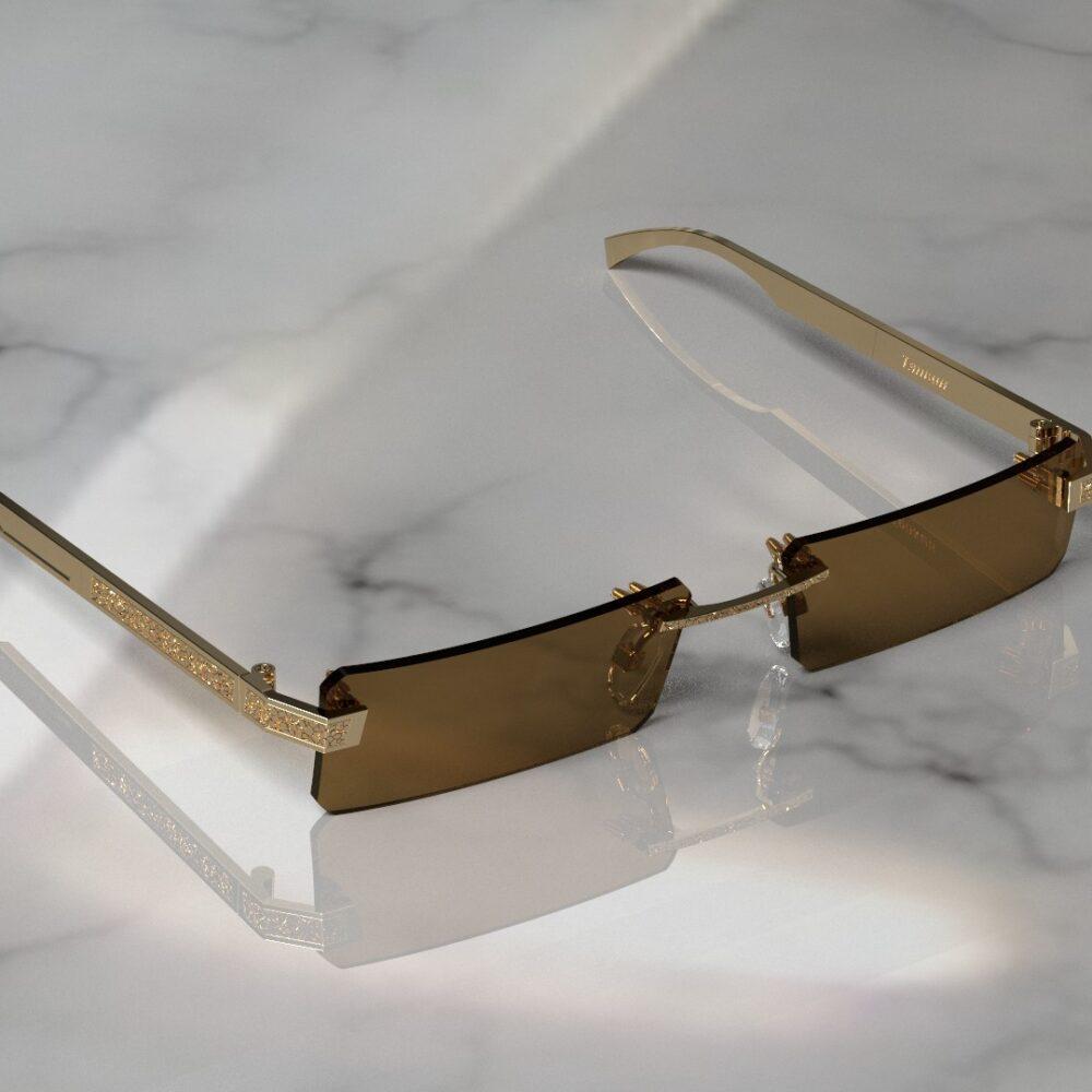 Очки из золота 750 пробы
