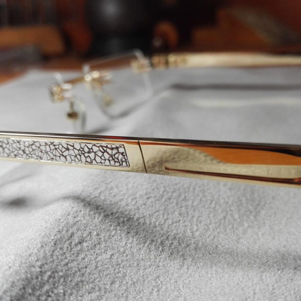 Очки из золота 585 пробы